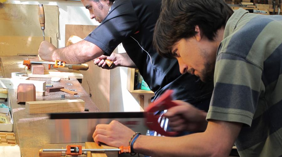 Workshops GP Ebanistería